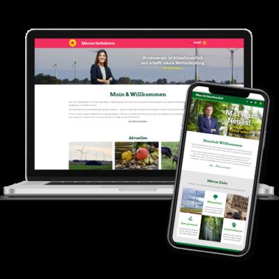 Angebot: Grüne Websites