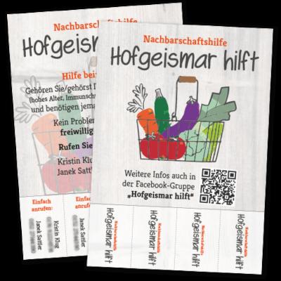 """Flyer """"Nachbarschaftshilfe"""""""