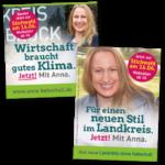 """Kampagne """"Landrätin"""""""
