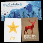 Angebot Weihnachtskarten